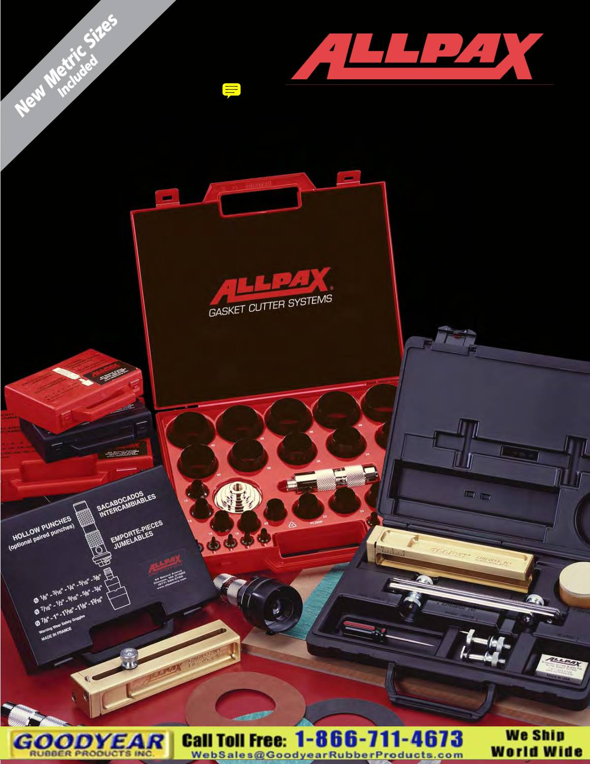 Allpax Gasket Cutting Tools