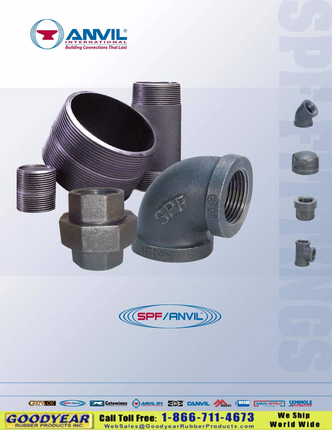 Anvil Steel Pipe Nipples