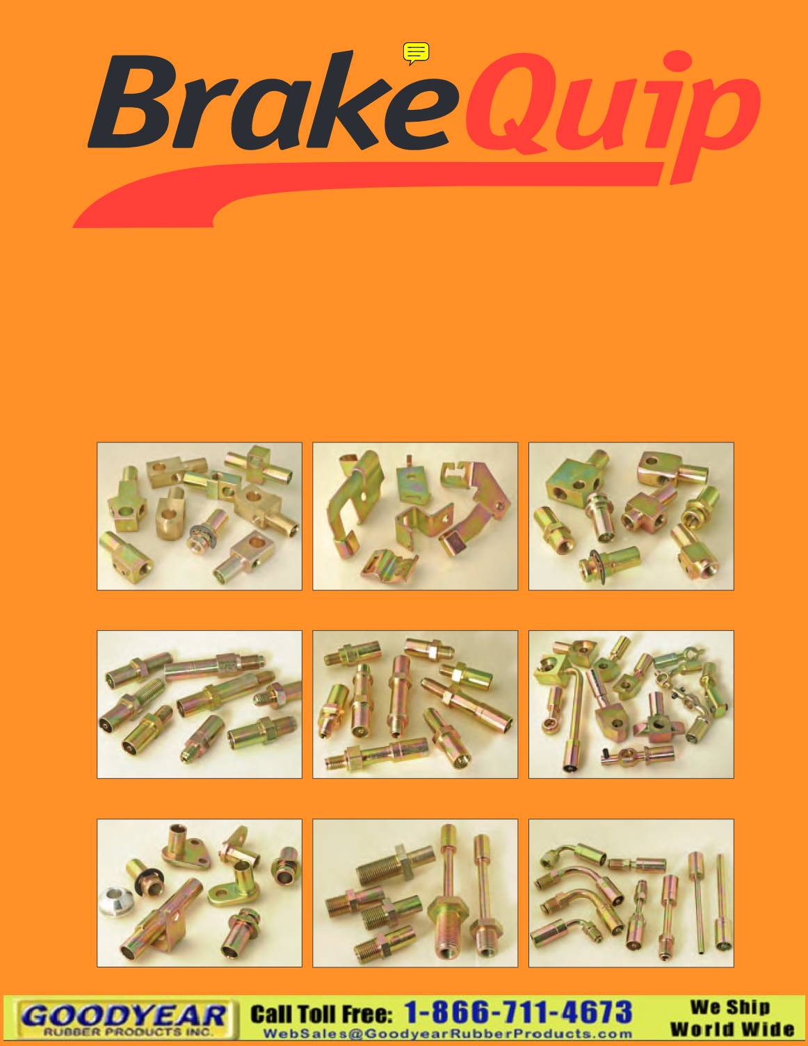 BrakeQuip Brake Hose and Fittings