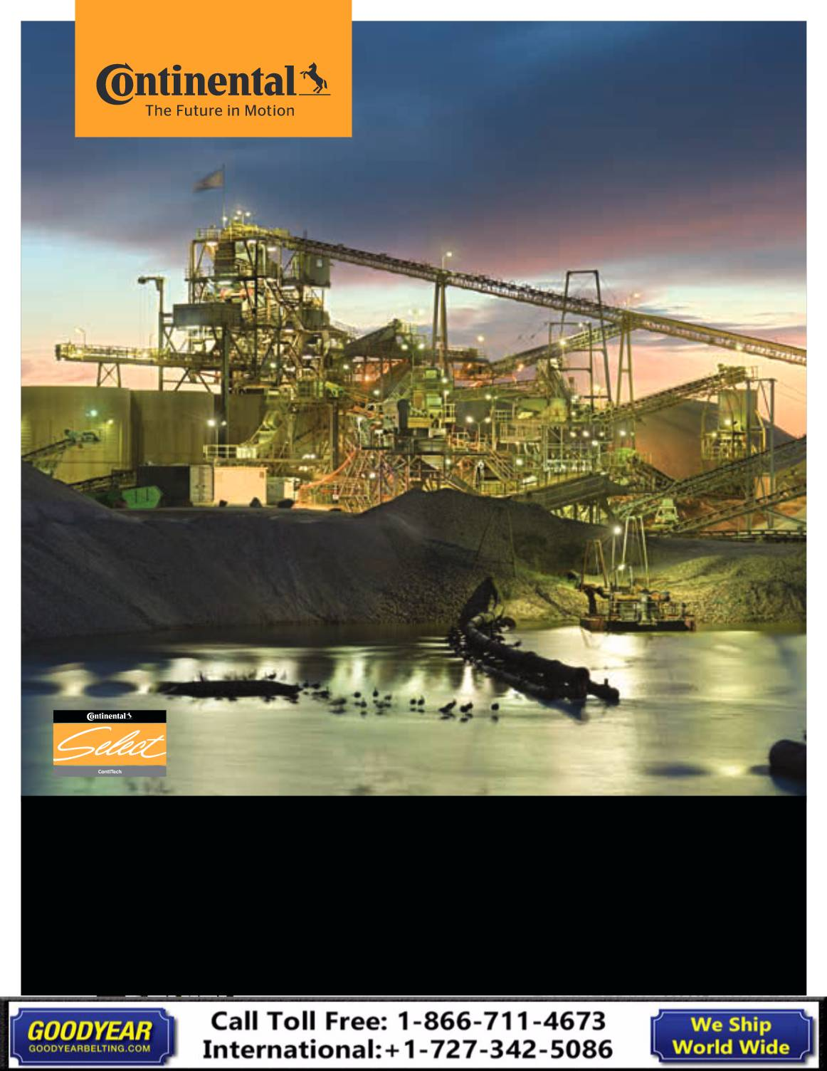 Contitech Heavy Duty Conveyor Belt Catalog 2018