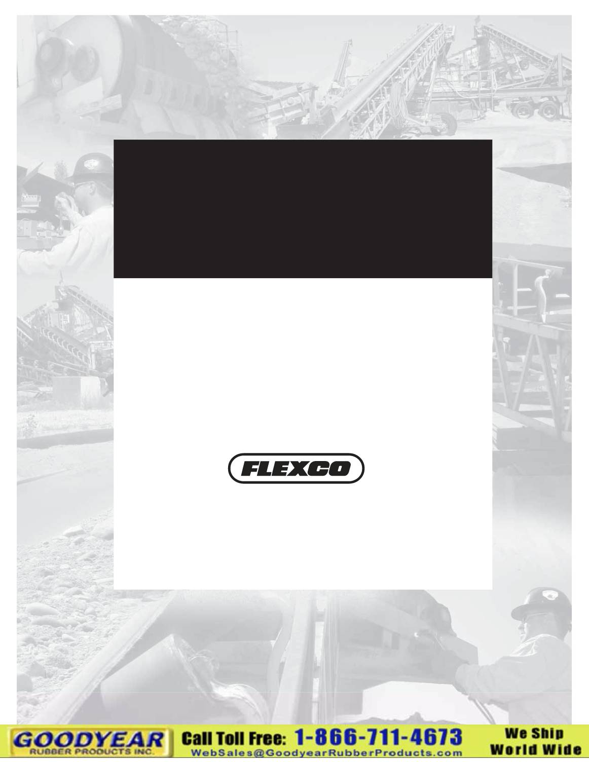 Flexco Belt Cleaners Handbook
