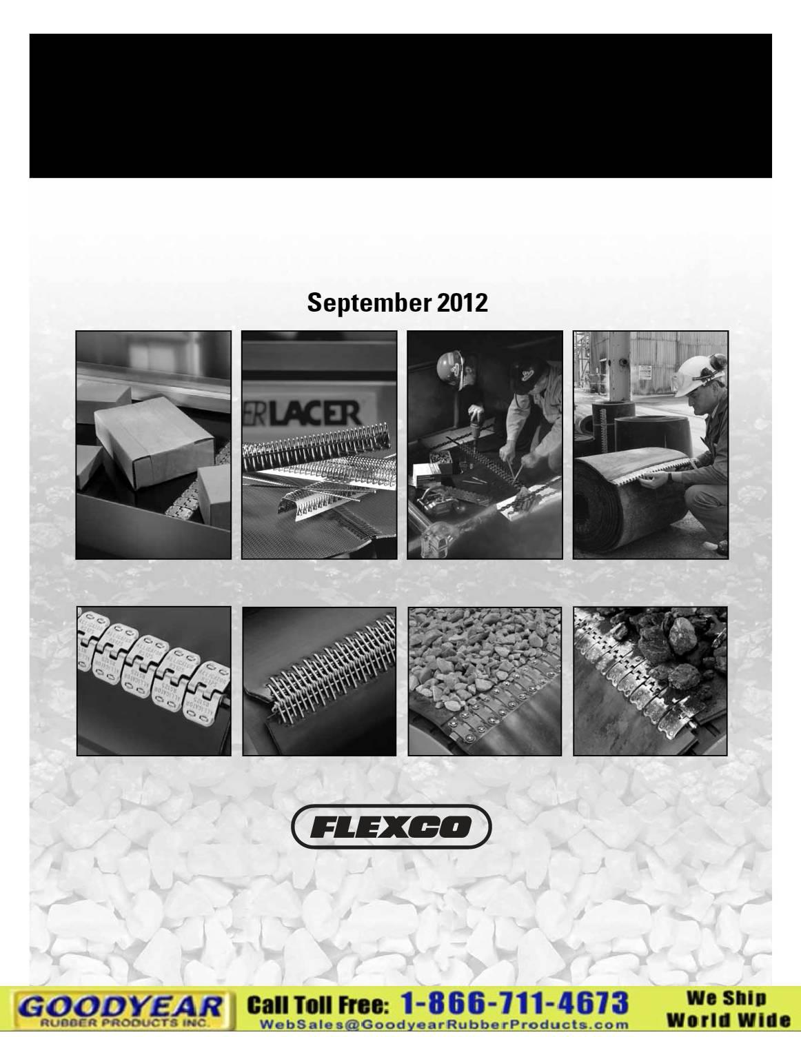 Flexco Belt Fasteners Handbook