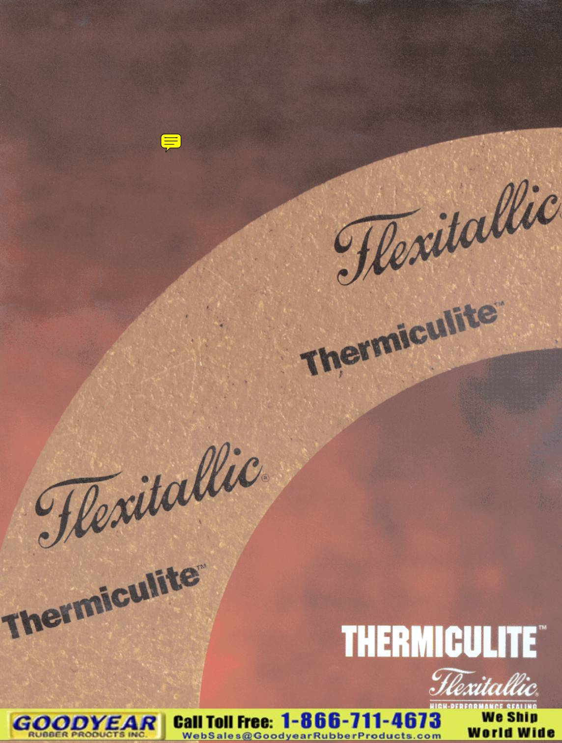 Flexitallic Thermiculite Gasket Sheet