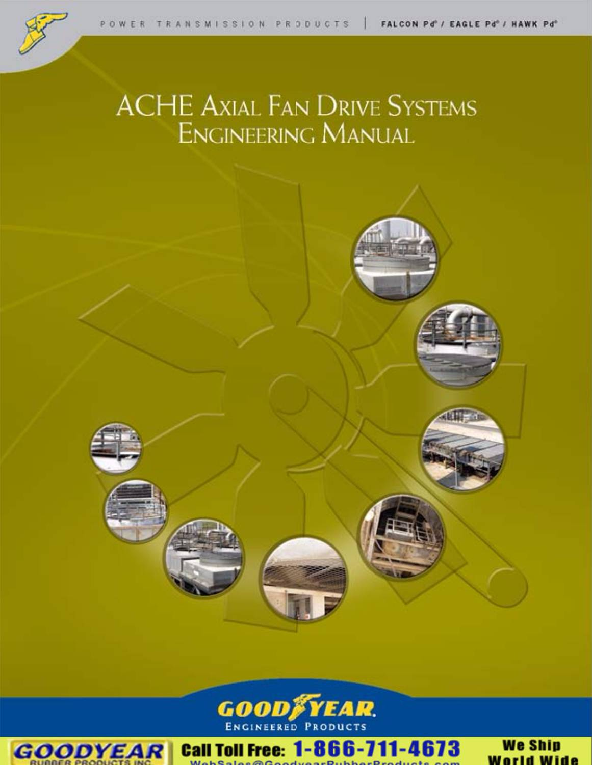 Goodyear ACHE Axial Fan Drive Systems Design Manual