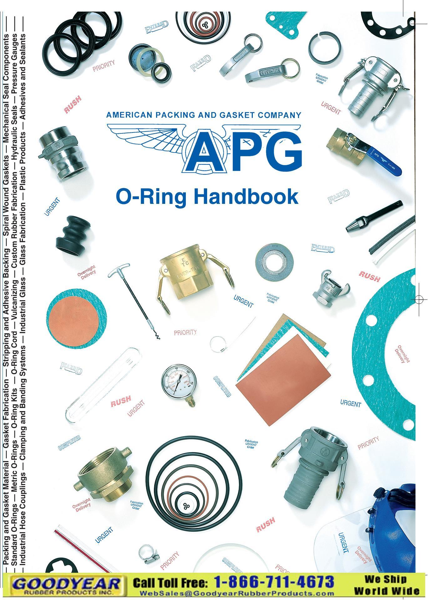 O rings Catalog