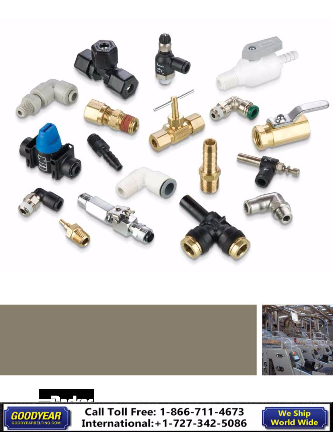 Parker Brass Catalog 3501E -2018