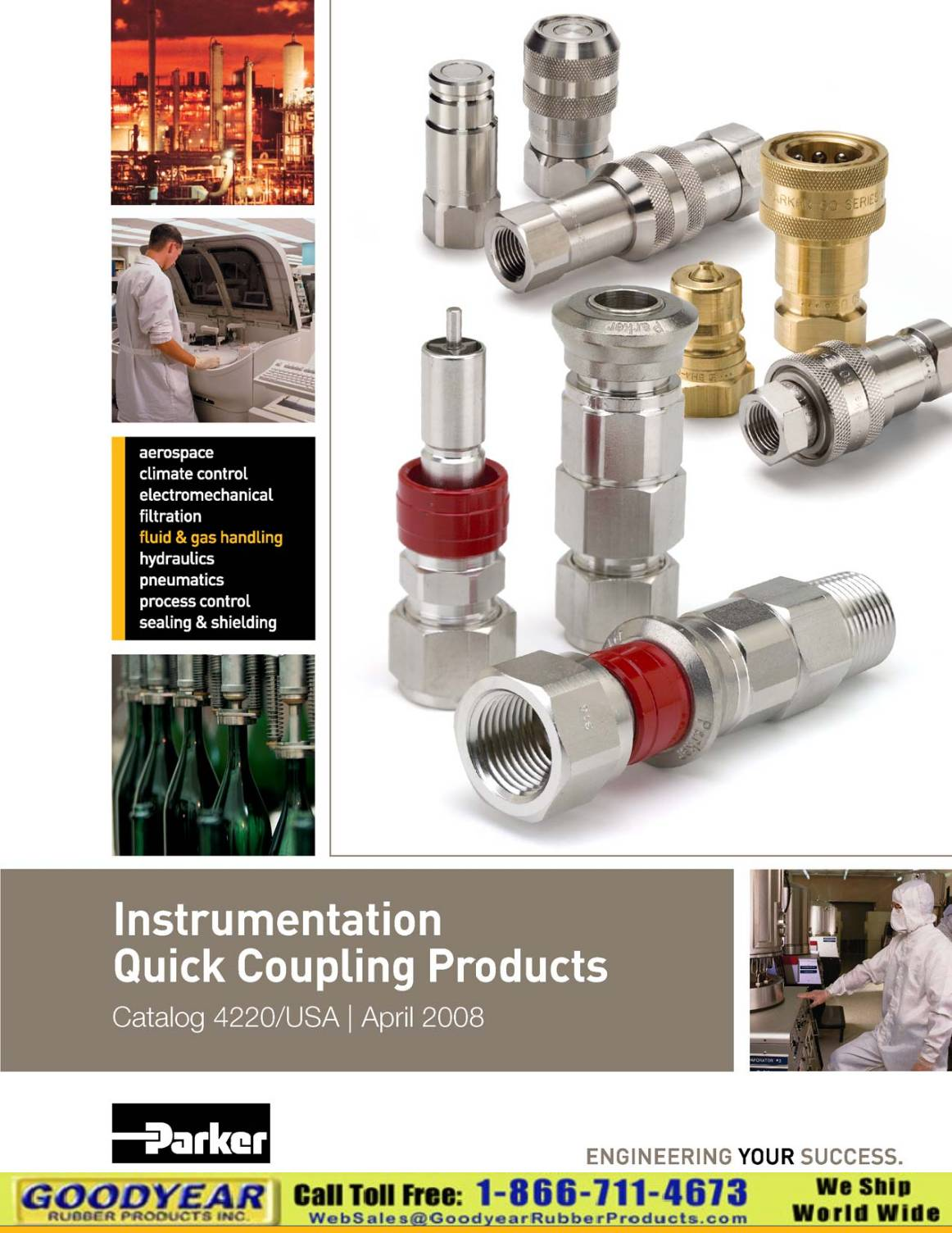 Parker Instrumentation Quick Couplings