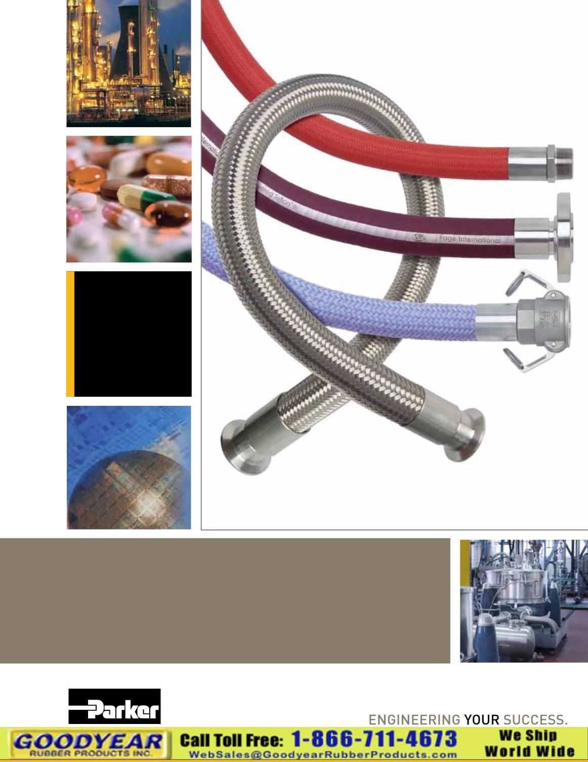 Parker Page Fluoropolymer Hose
