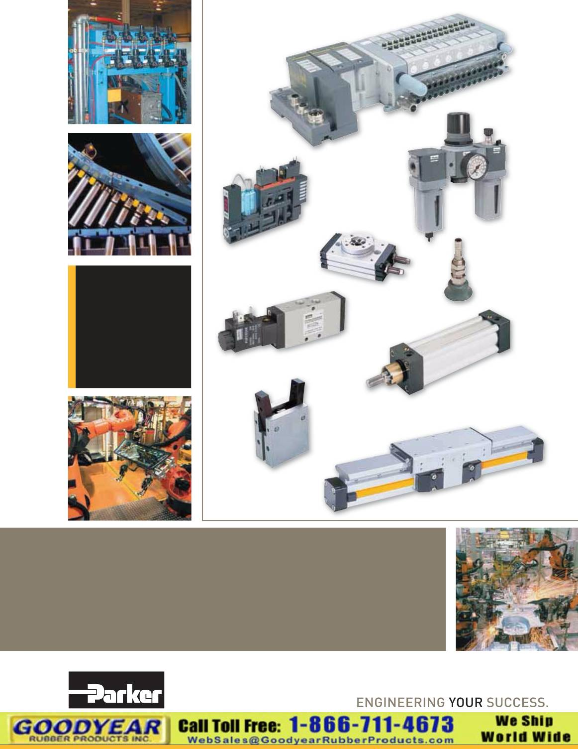 Parker Pneumatic Products 2014