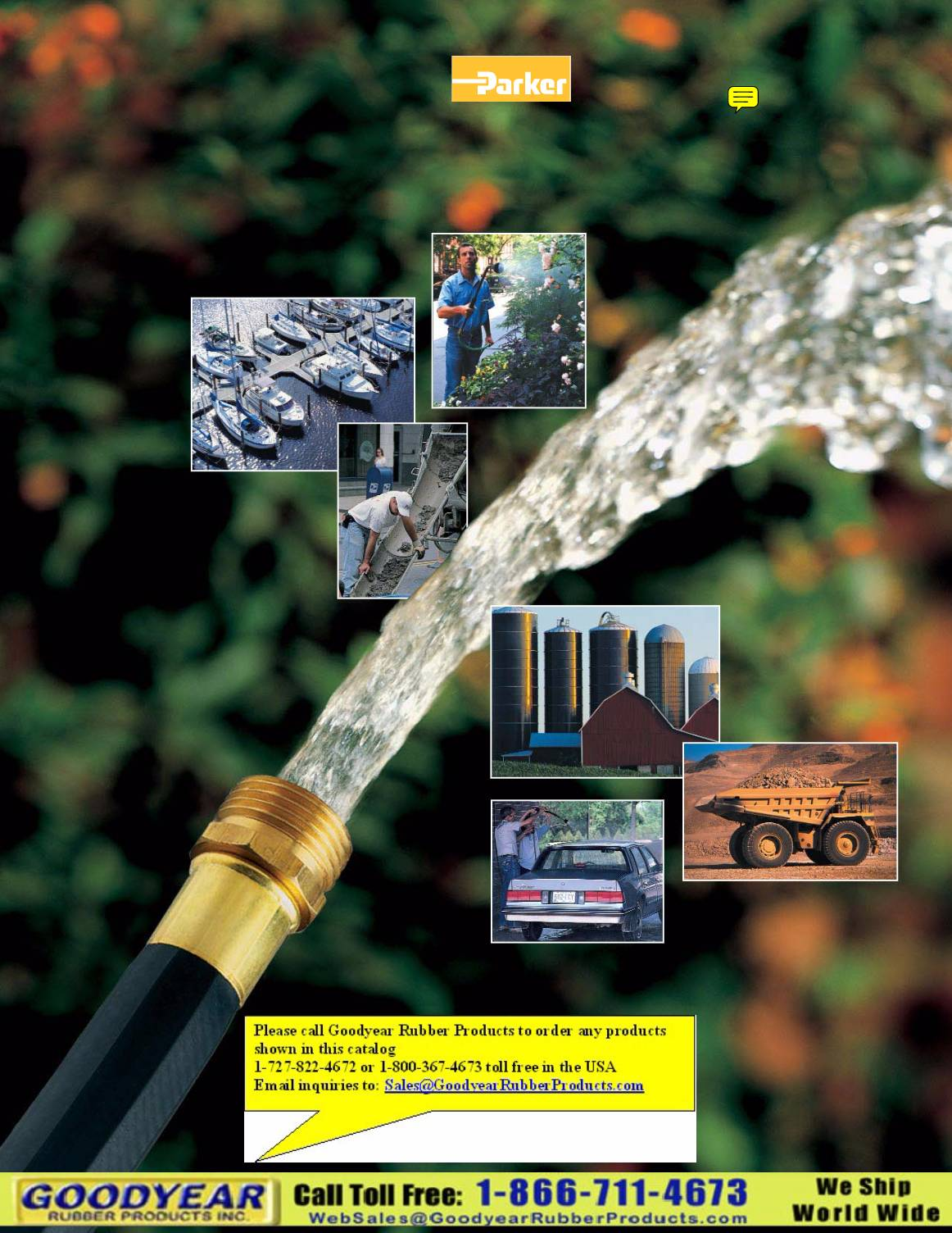 Parker Water Hose Products