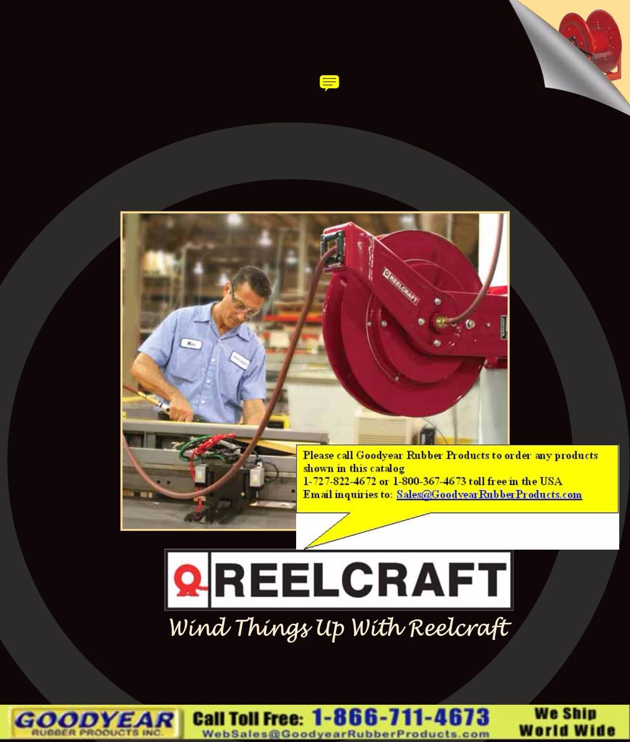 Reelcraft Hose Reels