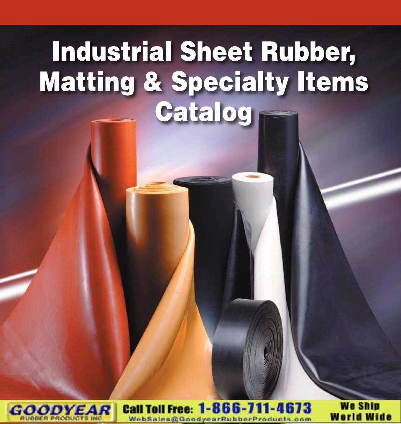 Sheet Rubber Catalog
