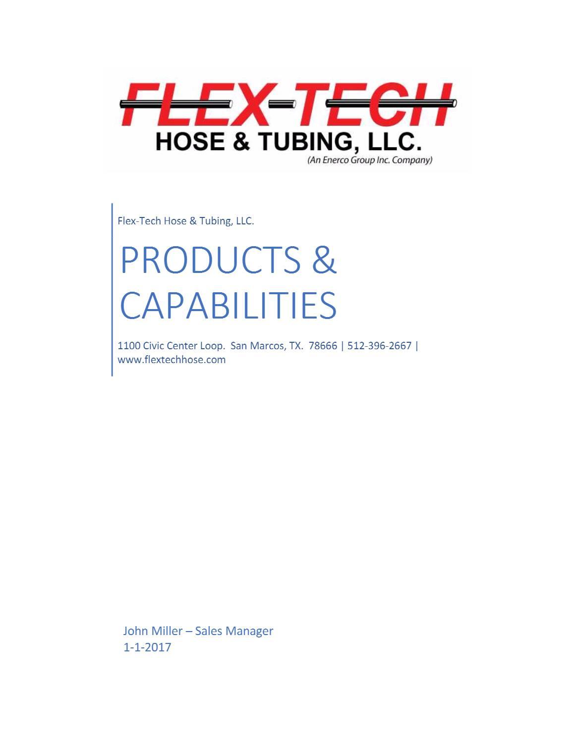 FlexTech Catalog