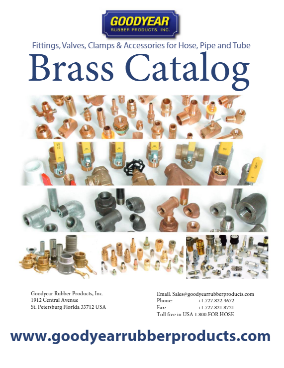 Goodyear Rubber Brass Catalog 2019