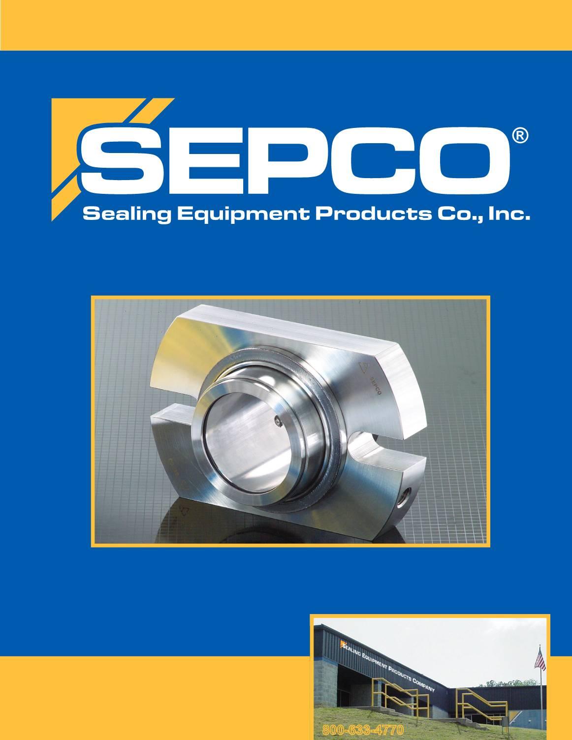 SEPCO Mechanical Seals Catalog