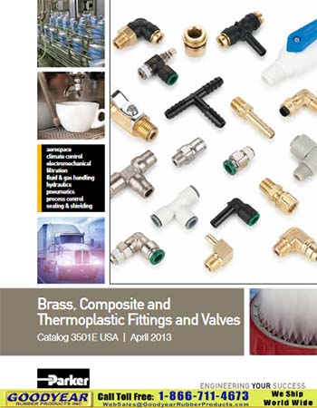 Parker Brass Fittings and Valves