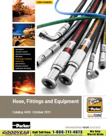 Parker Hydraulic Hose & Couplings